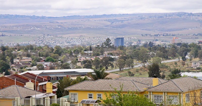 View over Mthatha