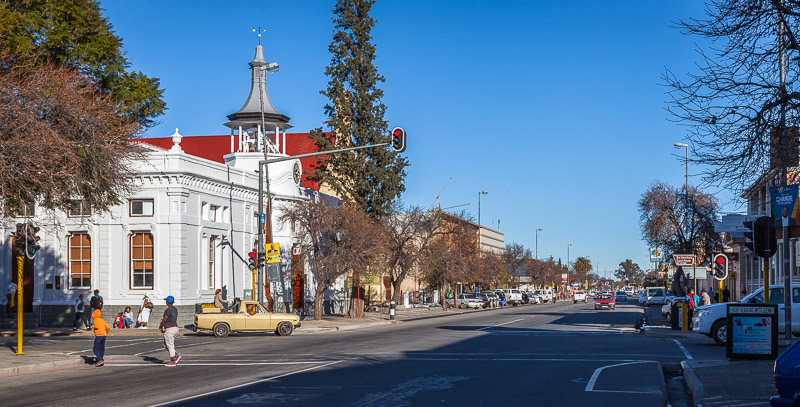 Beaufort West main street