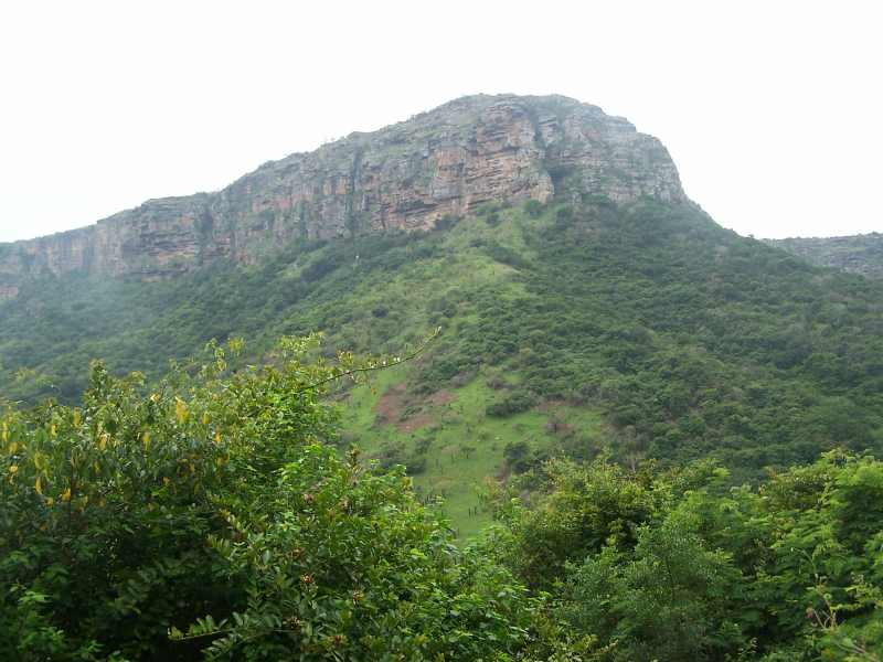 Cliffs at Oribi Gorge