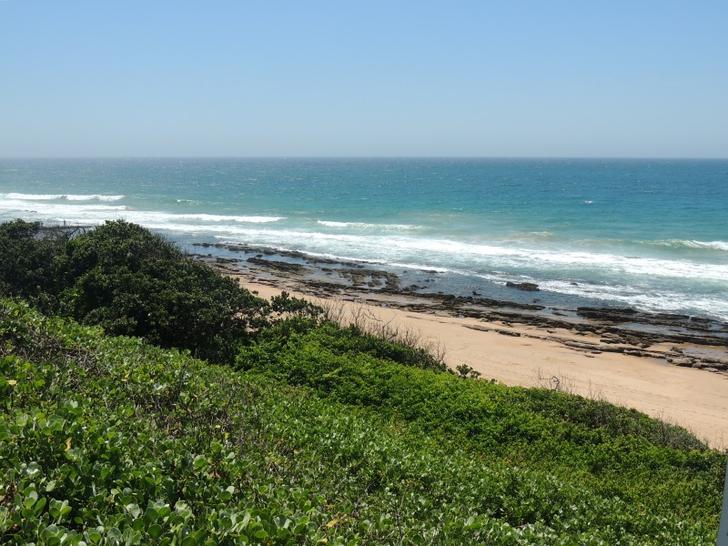 Beautiful beach at Scottburgh